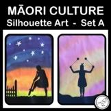 Maori Culture Silhouette Art SET A