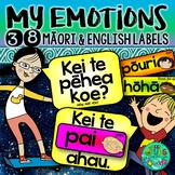 Maori Emotions/Feelings Labels