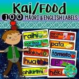 Maori Food/Kai labels