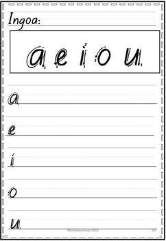 Maori Handwriting