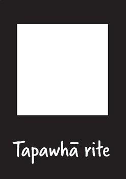 Maori High Contrast Shapes Flash Cards