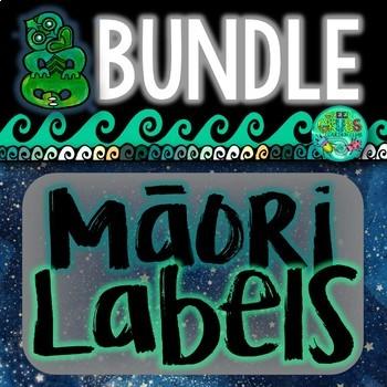 Maori Labels MEGA Bundle