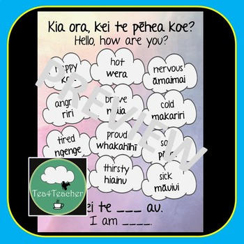Maori Language Classroom Set - Word Posters, Colours, Number, Days, Months
