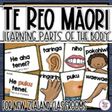 Te Reo Maori Parts of the Body language cards - for New Ze