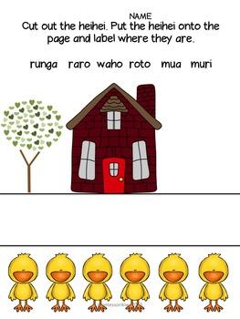 Maori Location words