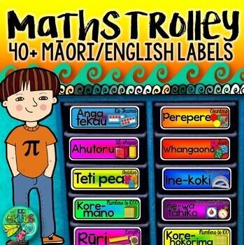 Maori Maths Labels {BUNDLE}