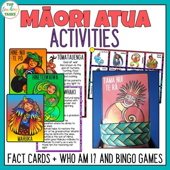 Maori Myths and Legends Activities Bundle | Maori Language Week