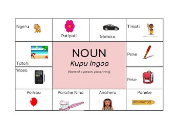 Maori NOUN Poster