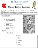 Maori New Zealand Tattooing Portrait Drawing Lesson