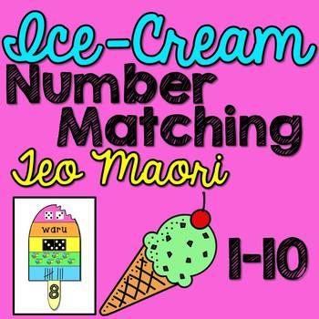 Maori Numbers 1-10 Matching Activity
