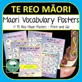 Te Reo Maori Vocabulary Posters - People, Places, Actions, Objects, Colours