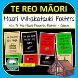 Te Reo Maori Proverb Posters Whakatauki about Life & Learning