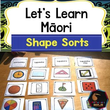 Maori Shape sorting
