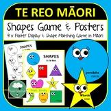 Te Reo Maori SHAPES Game and Posters