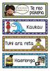 Maori Daily Visual Timetable EDITABLE
