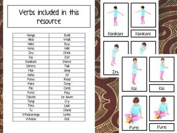 Maori Verbs Kupu Mahi