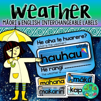 Maori Weather Labels