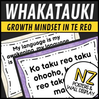 New Zealand Resources: Maori Language Whakatauki Growth Mindset in Te Reo