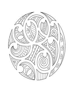Maori Word Search and Color