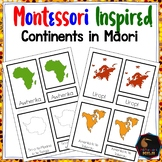 Maori continents (Montessori Inspired)