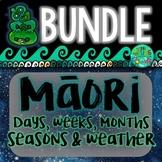 Maori days of the Week, Months & Seasons BUNDLE