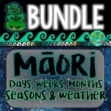 Maori days of the Week, Months & Seasons BUNDLE