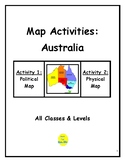 Map Activities: Australia