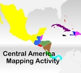 Central America - Mapping Activity