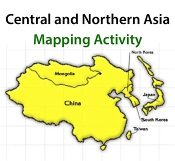 Central and Northern Asia - Mapping Activity by Robert\'s Resources