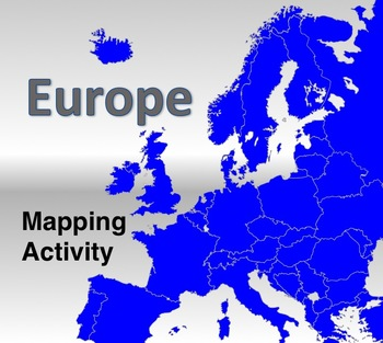Europe - Mapping Activity
