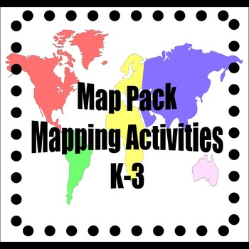 Map Activity Pack