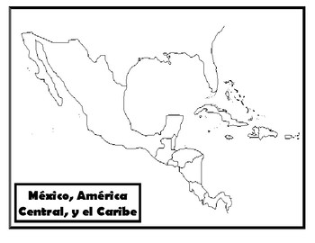Map - Central America