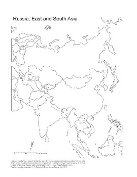 Map - Central Asia