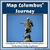 Map Columbus' Journey with Exact Coordinates