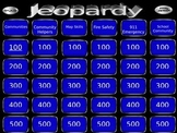Map, Community and Emergency Jeopardy