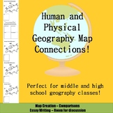 Map Comparisons - Human and Physical Geography