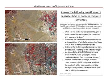 Map Comparisons: Las Vegas Geography