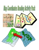 Map Coordinates Reading Pack