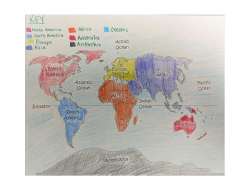 Map Detectives: Geography Cut and Paste Activity