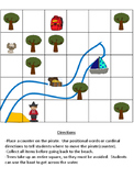 Map Directions - Positional words or Cardinal Directions