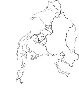 Map - East Asia