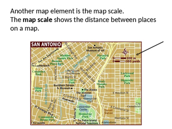 Map Elements PowerPoint