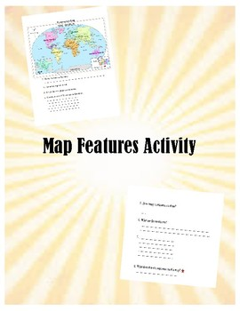 Map Features Activity