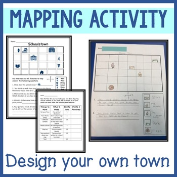Map Features- Town Map