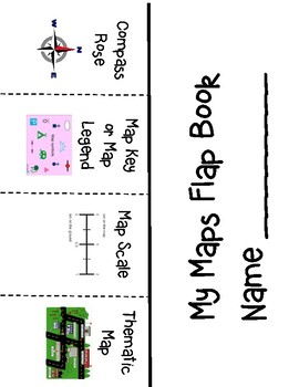 Map Flap book