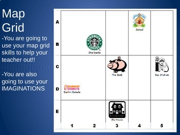 Map Grid Lesson:  RAFT format