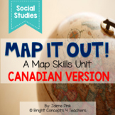 Map Skills Unit {Canadian Version}