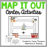 Map It Out Center Activities for Cardinal Directions and Maps