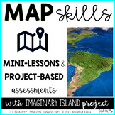 Map Madness (map skills unit, imaginary island project)