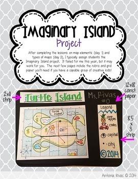 Map Madness (map skills unit, imaginary island project)